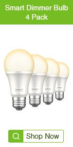 Gosund Smart Bulbs 4Pack