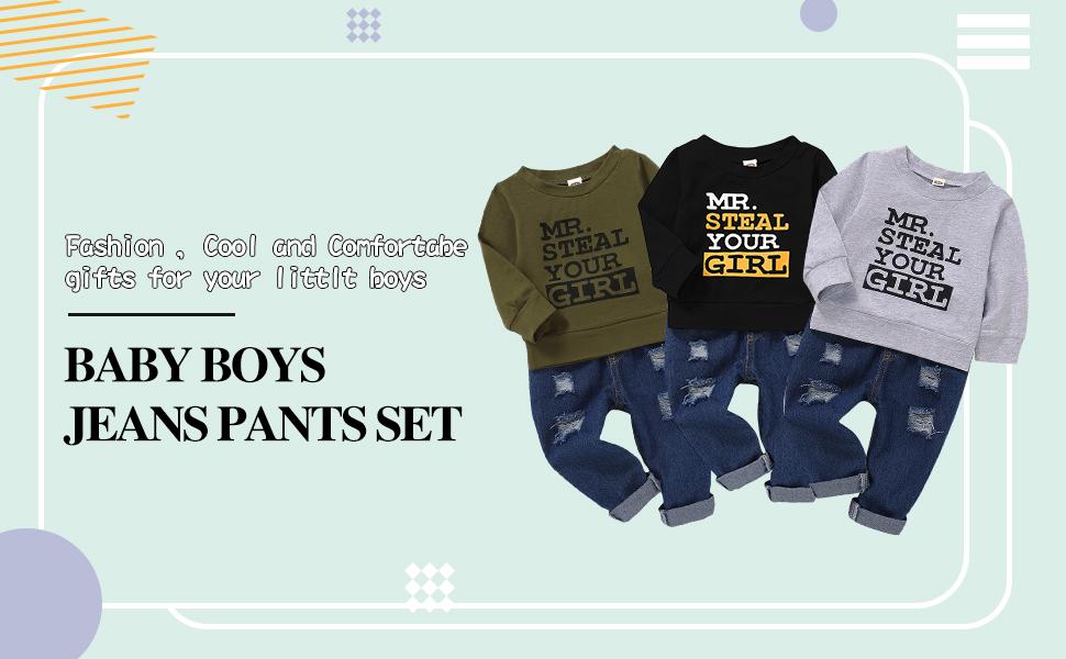 camo baby boy clothes set
