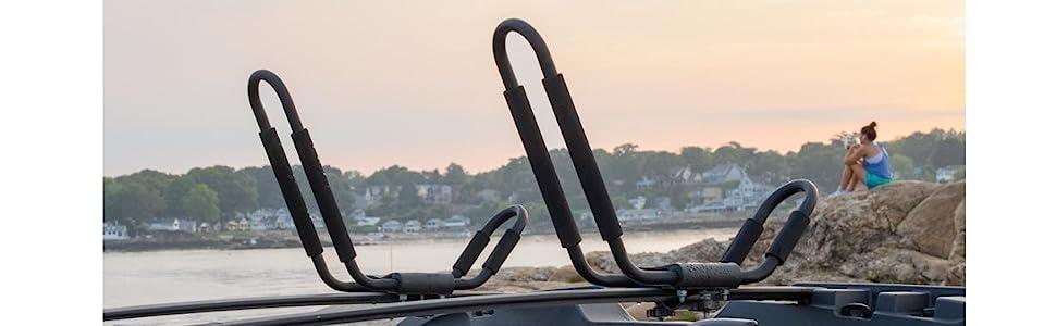 Kayak Car Rack, Kayak Roof Rack, Kayak Rack, Kayak travel, Canoe rack, Canoe travel