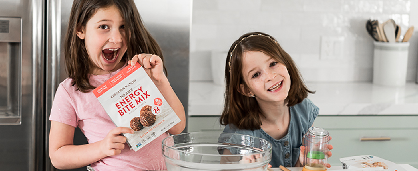 kids gluten free low carb sugar free snack protein bar bite mix