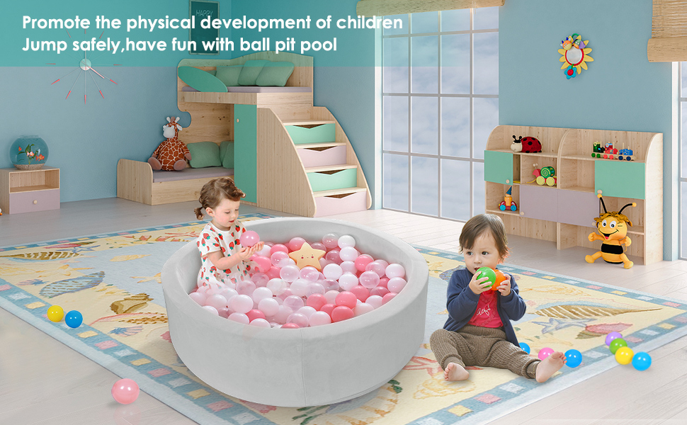 have fun with ball pit pool