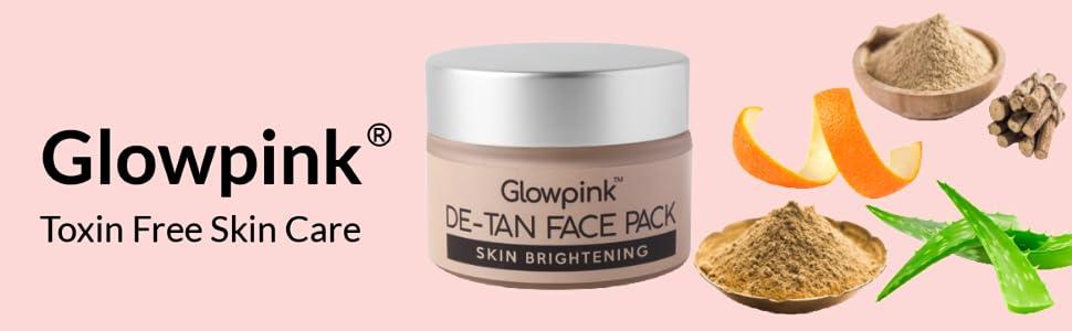 Glowpink De-tan Face Pack Banner