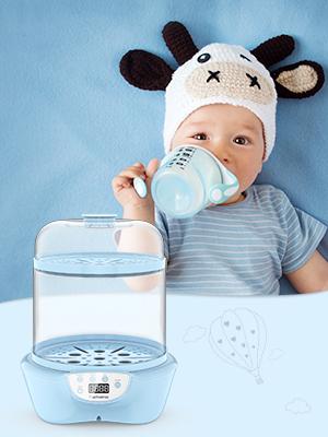 baby bottles steam sterilizer and dryer