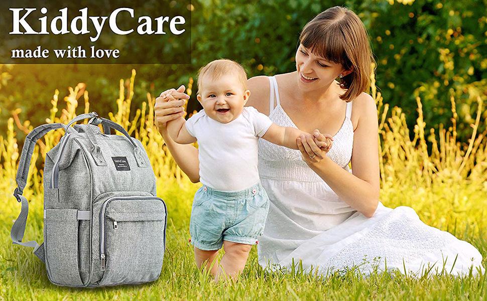 kiddycare, diaper bag, baby, mom