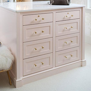 crystal cabinet handles