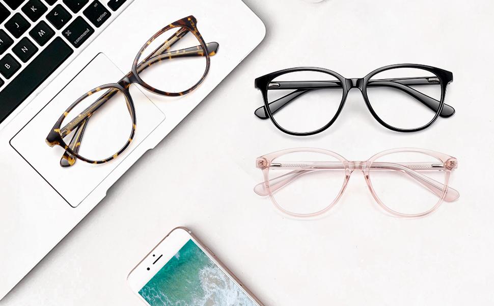 blue light glasses for women computer glasses non prescription glasses frame fake glasses frame