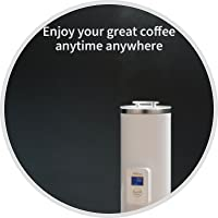 Full extracted coffee aroma permeates the room, enjoy your great coffee anytime anywhere