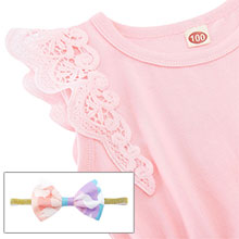 Baby Girl Lace Romper Dress 0-3 Months Baby Girl Clothes