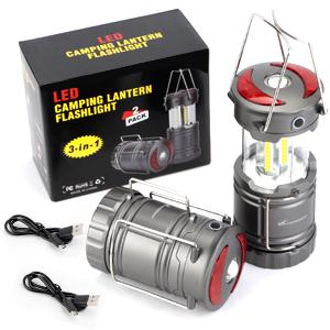 Rechargeable Camping Lantern Kit