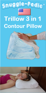 Trillow 3 in 1 Contour Pillow