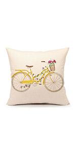 easter, summer, spring, bike, print, room, sofa, covers, cover, decor