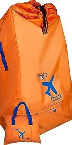 stroller gate check bag for airplane, gate check stroller bag