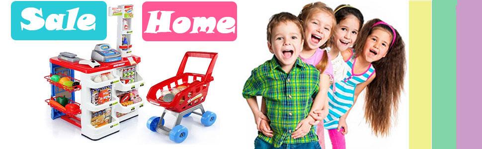 kids supermarket toys
