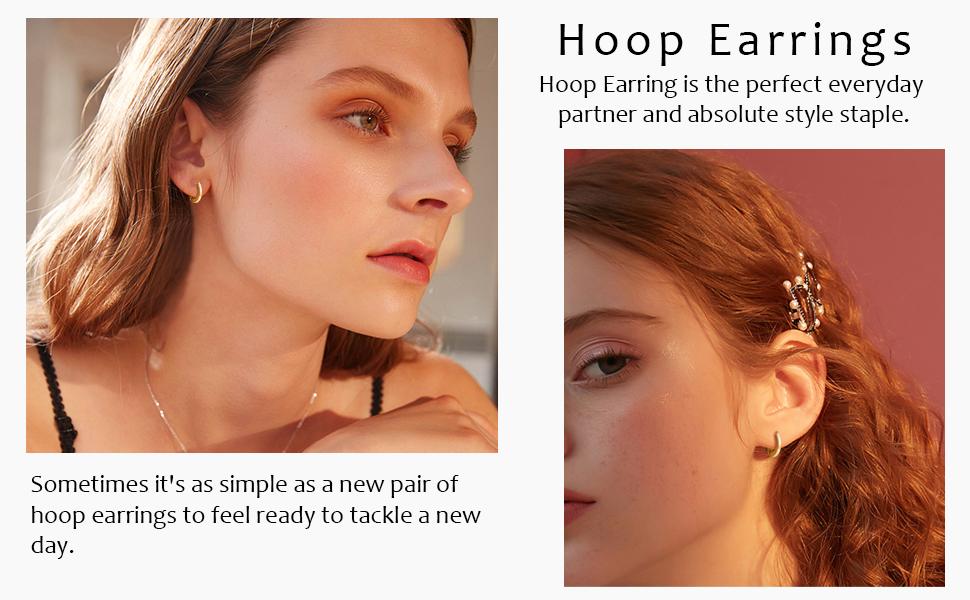 Cartilage Huggie Ear Jewelry