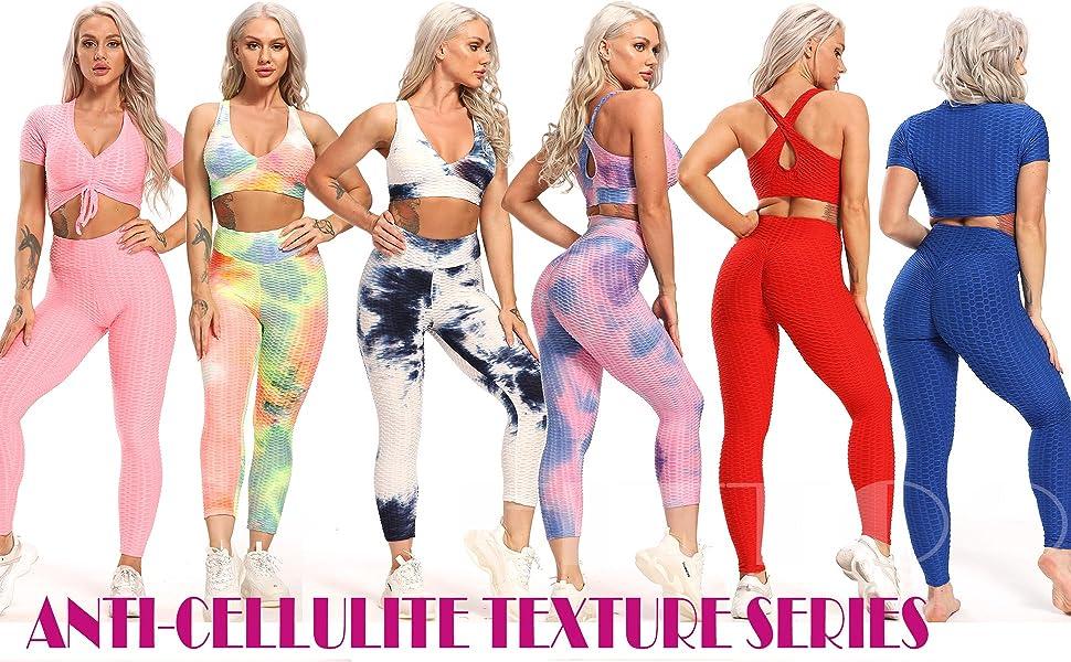 Textured leggings