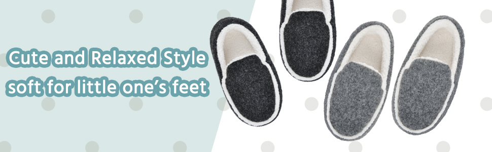 black grey slippers