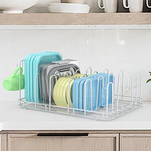 Lid Organizer for Plastic lids