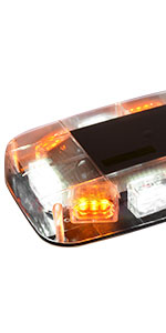 amber white strobe lights