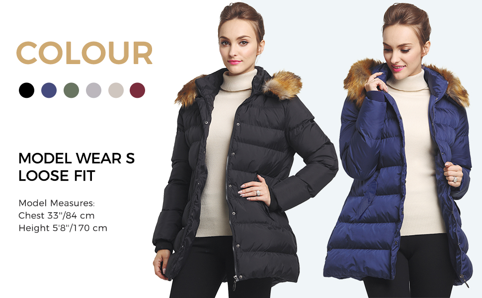 women winter jacket and coats