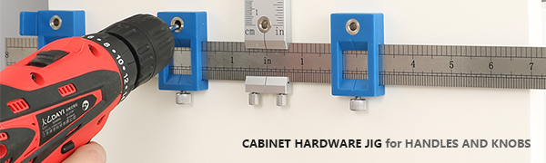 Drill Guide Sleeve Cabinet Hardware Jig