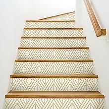 DIY Stairs NextWall Peel amp; Stick Wallpaper