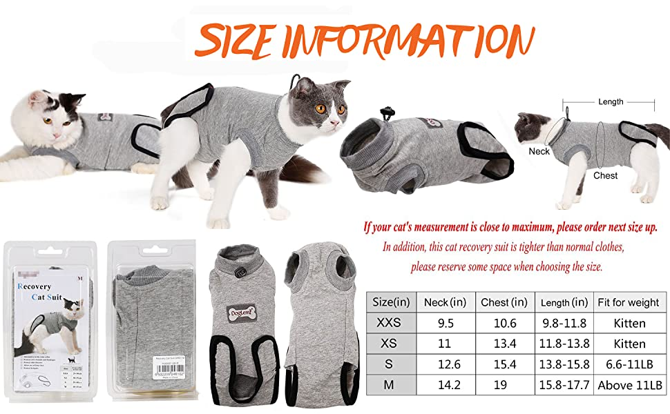 spay collar alternative puppu onesie legs pets snuggly cat spandex suit spandx anxiety help for