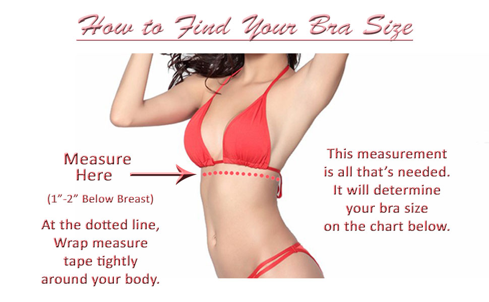Post surgical bra size chart, brilliant contours sizing, breast surgery recovery