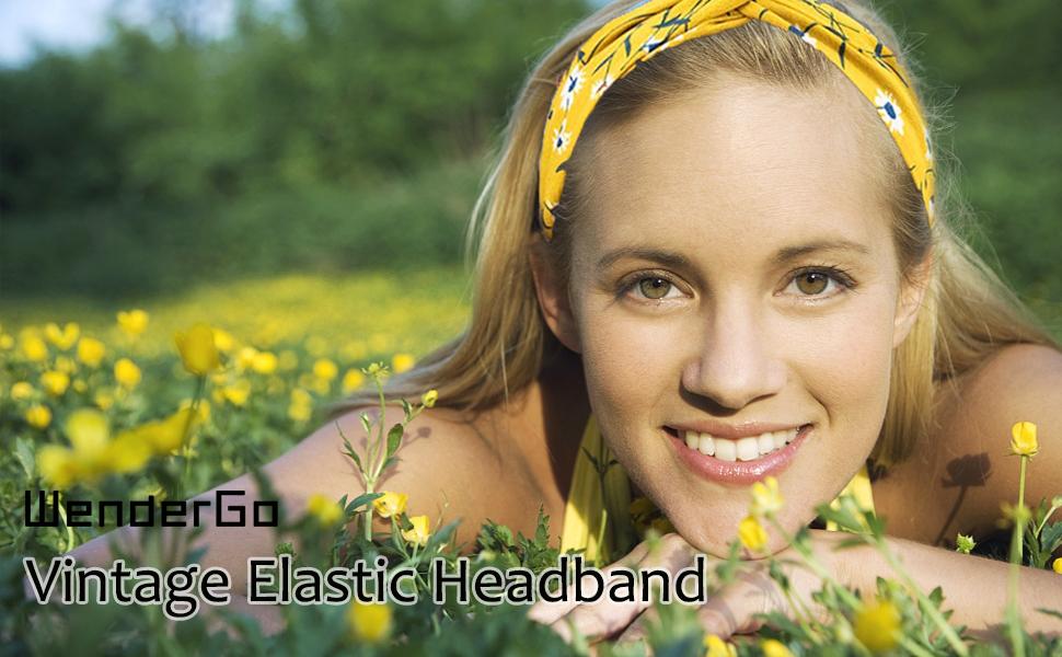 vintage elastic headbands