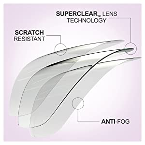 Safety Glasses, Anti-fog, anti-scratch, safety goggles, PPE, clear safety glasses