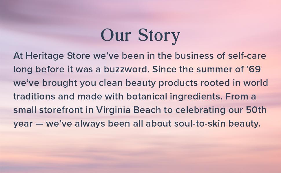 Heritage Store Rosewater Refreshing Facial Splash for Glowing Skin No Dyes or Alcohol Vegan 8oz