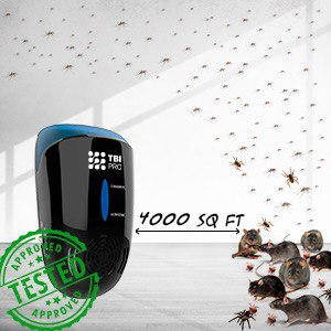 UPGRADED Ultrasonic Pest Repeller Wall Plug-in - Most Effective 2019  Electromagnetic & Ionic Indoor Anti Mouse, Ant, Mosquito, Cockroach Control  -