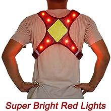 led light up vest for running
