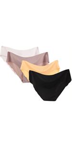 Women's Underwear Panties Briefs Ladies Knickers Breathable