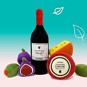 munchiecat wine and Cheese Catnip