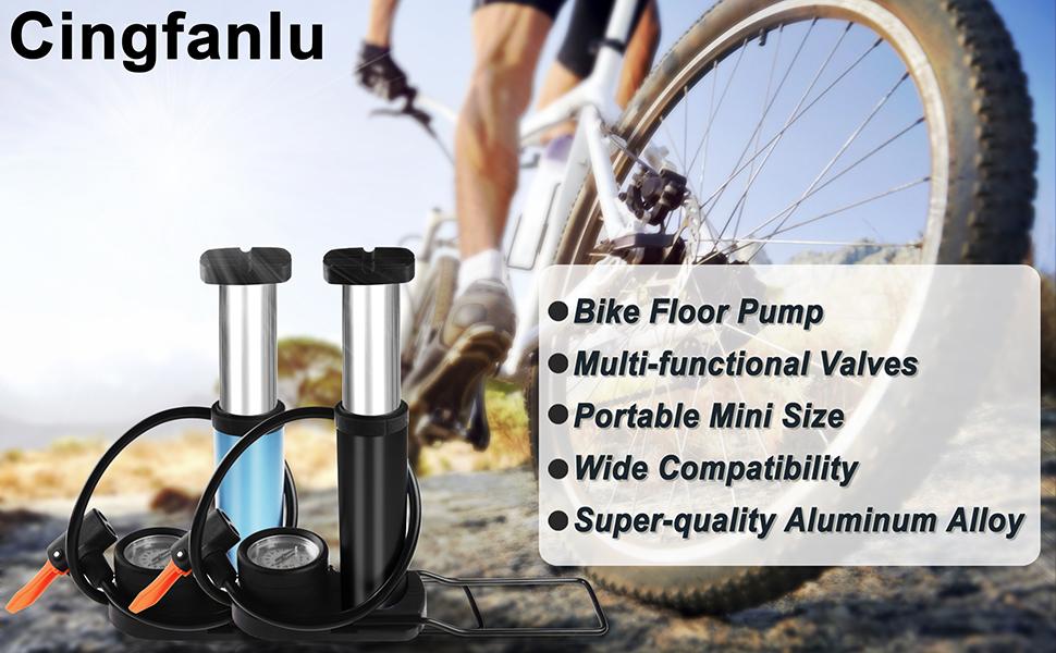 Multi-functional Valves Portable Mini Size Wide Compatibility Super-quality Aluminum Alloy