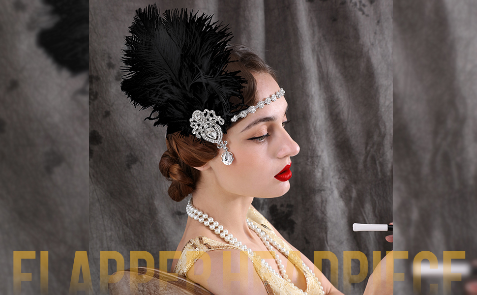 Great Gatsby Hair Accessories for Women