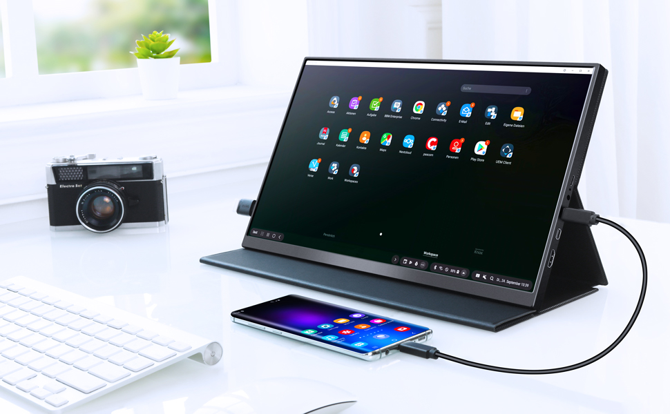 15.6 portable monitor gaming monitor usb type c monitor USB-C monitor Full HD monitor for laptop