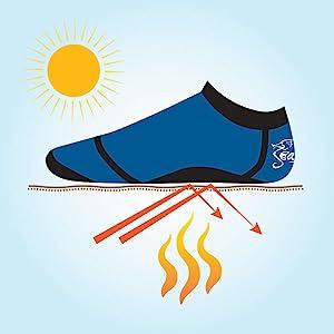seavenger beach socks seasnug grip sole