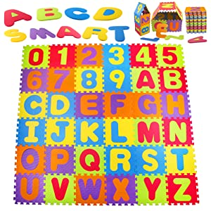 A to Z alphabet and 0 to 9 Number