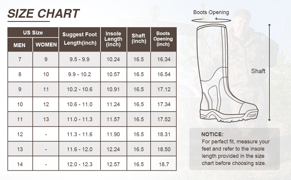 Hunting Boots for cold weather