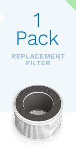 1-pack replacement filter