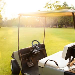 golf cart heat