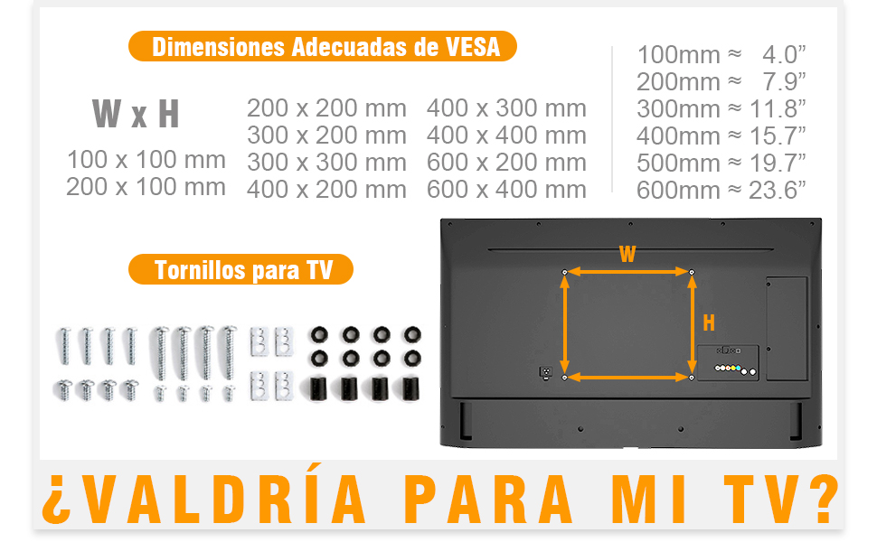 RFIVER Universal Soporte TV con Ruedas de Suelo para Televisiones de 37 a 70 Pulgadas con Giratorio y Altura Ajustable MAX VESA 600x400mm TF5001: Amazon.es: Electrónica