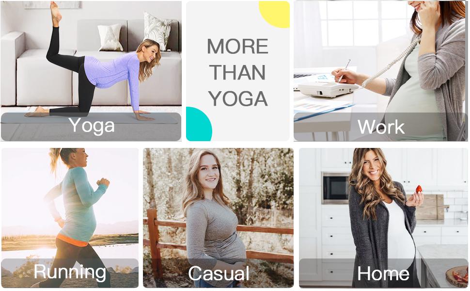 maternity yoga top
