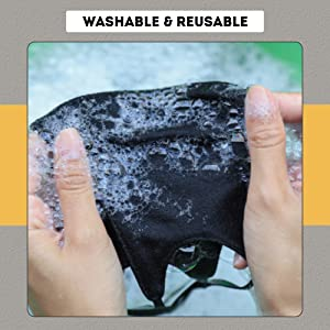 mask reusable EUME 95 face mask reusable& washable face mask shield wash washable and reusable mask