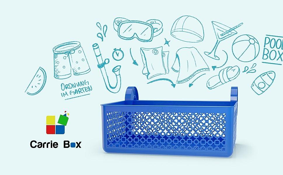 Carrie Box Aufbewahrungskorb Gegenstände Ideen