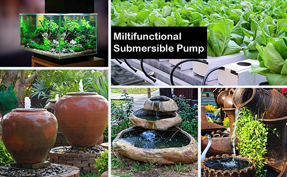 multi functional submersible pump