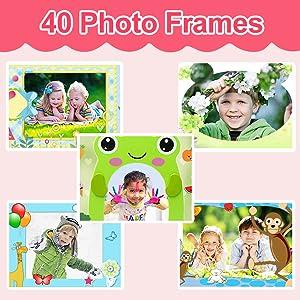 40 Photo Frames