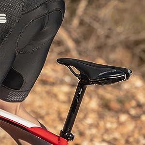L3 Black Selle Italia Unisexs SP-01 Boost Kit Carbonio Superflow Saddle