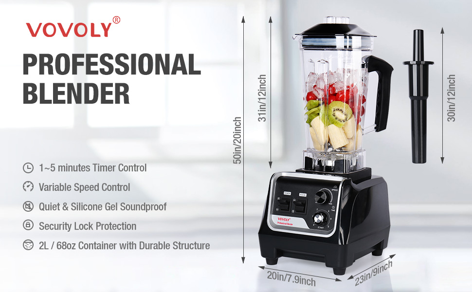 Features of VOVOLY Professional Blender